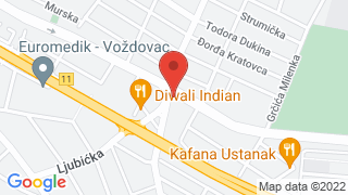 Dusanovacki cvet map