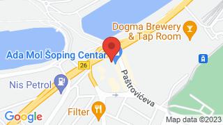 Ada Mall map