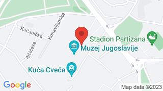 Museum of Yugoslav History map