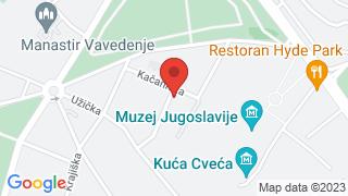 Легат Петра Лубарде map
