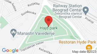 Хајд парк map