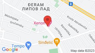 Xenon map