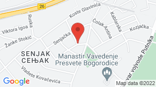 Senjak map