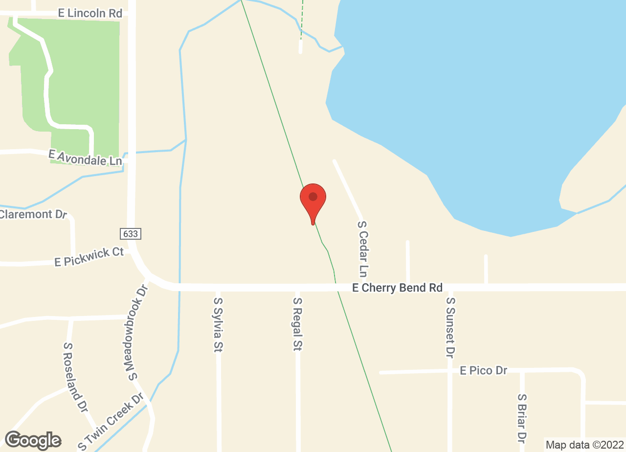 Google Map of VCA Cherry Bend Animal Hospital