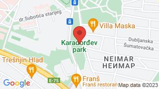 Karadjordje park map