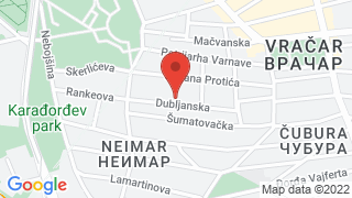 Биљана map