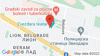 Звездара Театар map