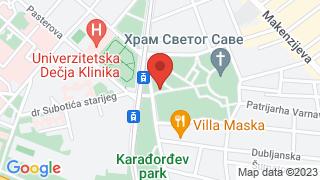 Karadjordjev park map