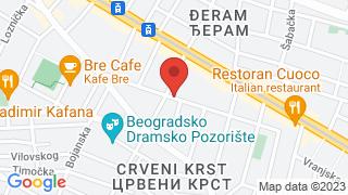 VIP апартман Београд map