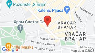 Bistro Trandafilovic map
