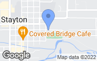 Map of Stayton, OR