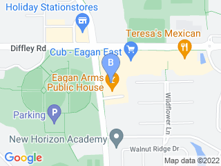 Map of Four Seasons Pet Care Dog Boarding options in St Paul | Boarding