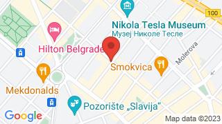 Ловац map