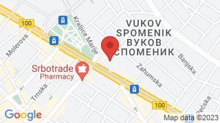 Theater Vuk map