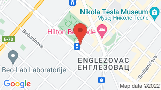 National Bank of Serbia map