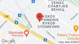 Vuk monument map