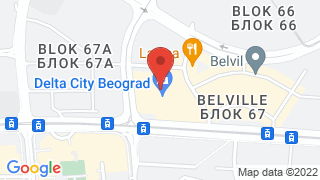 Delta City map