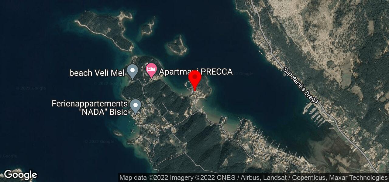Google Map of apartment with boat mooring - MARE