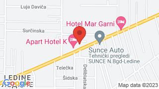Apart Hotel K map