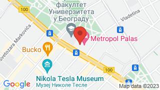 Metropol Palace map