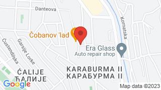 Чобанов Лад map