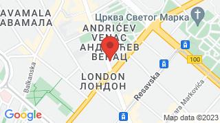 EU Info Center map