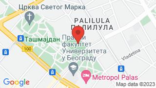 СРЦ Ташмајдан map