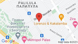 Бурито и Дрина map