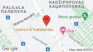 Lorenco i Kakalamba map