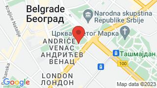 Pionirski park map
