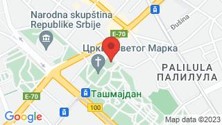 Мало позориште Душко Радовић map