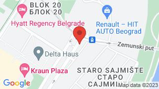 Градска Кафана map