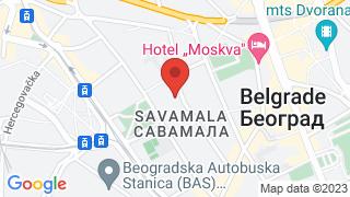 Савамала map