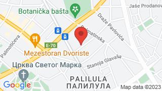 Кафана Кафана map