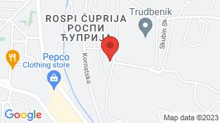 Ciglana map