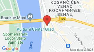 КЦ Град map