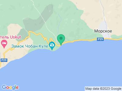 Карта Кемпинг Чабан-Кале