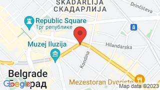 Cultural center Baraka map