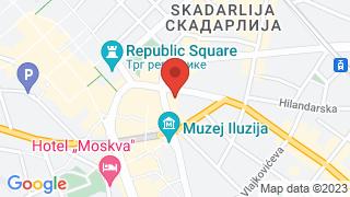Дом омладине map
