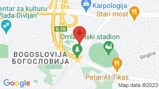 Православни Богословски факултет map
