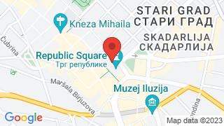 Споменик Кнезу Михаилу map