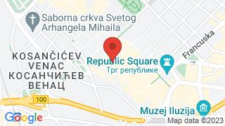 Drum Belgrade Underground Society map