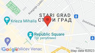 Stanica map