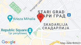 Клуб књижевника map