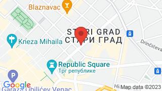 Belgrade Inn map