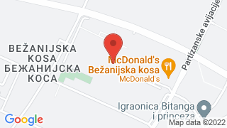 Bezanijska kosa map