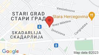 Битеф Театар map