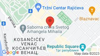 Галерија Сингидунум map
