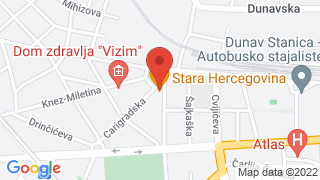 Stara Hercegovina map