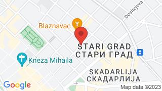 Centrala map